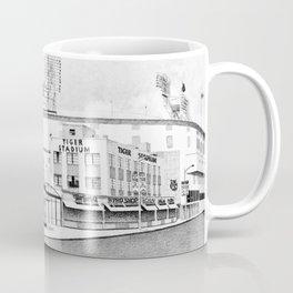 Old Tiger Stadium   Detroit Michigan Coffee Mug