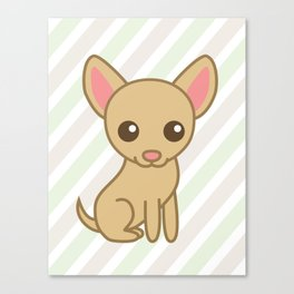 Pinky the Chihuahua  Canvas Print