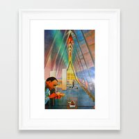 science Framed Art Prints featuring science by Hugo Barros