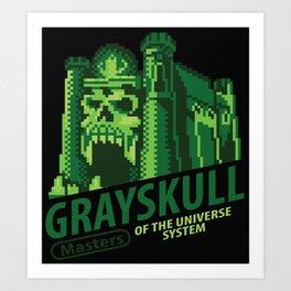 Game of Grayskull Art Print