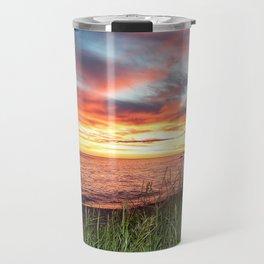 Dawn and the Grass Travel Mug