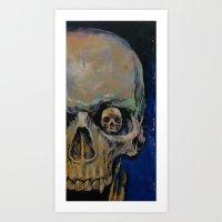 vampire Art Prints featuring Vampire by Michael Creese