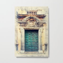 Trapani art 22 Sicily Metal Print