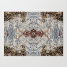 Transcending 2 (Mandala #1b) Canvas Print