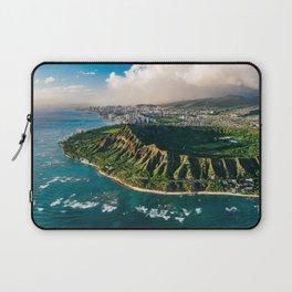 Diamond Head Aerial Panoramic Laptop Sleeve