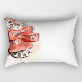 Vintage gadget series: View-Master Model G Rectangular Pillow