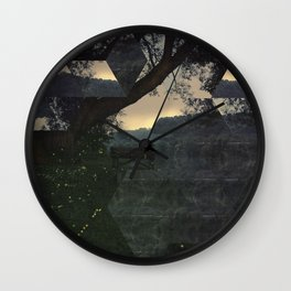 Between Dreams and Fears Wall Clock