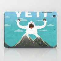 yeti iPad Cases featuring Yeti by Artificial primate