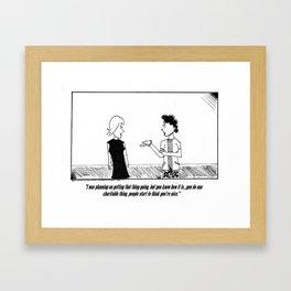 """""""HIGH SOCIETY"""" Framed Art Print"""
