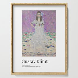 Gustav Klimt - Exhibition Art Poster - Mäda Primavesi - Met Museum Serving Tray