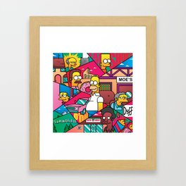 The Simpson Framed Art Print