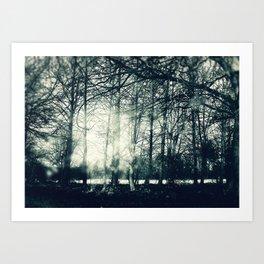 Faerie Wood Art Print
