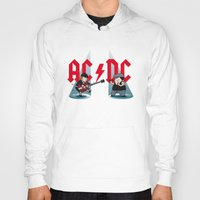 acdc Hoodies featuring ACDC by victimArte
