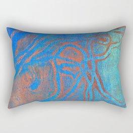 Abstract No. 209 Rectangular Pillow