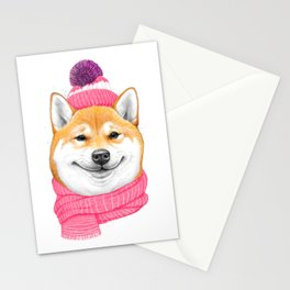 Shiba inu Stationery Cards