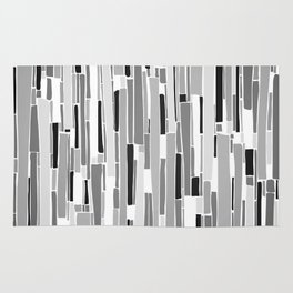 Stacked BW Rug