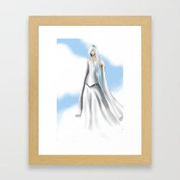 Innocent Raven Framed Art Print