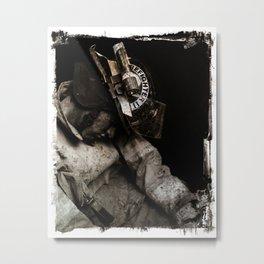 this is a selfish self-awareness, chapter 2 (part 2) Metal Print