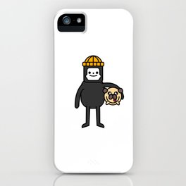 LILINTROVERT and Pudgy iPhone Case