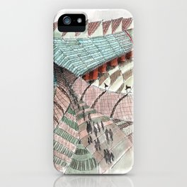 Meandering Landscapes: Welcoming Pathway iPhone Case