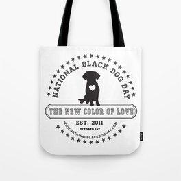 Black Dog Day Official Logo Tote Bag