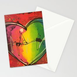 Colorful love Stationery Cards