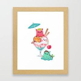 Mollusk cocktail Framed Art Print