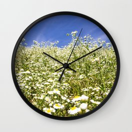 Flower Photography by Roman Synkevych Wall Clock
