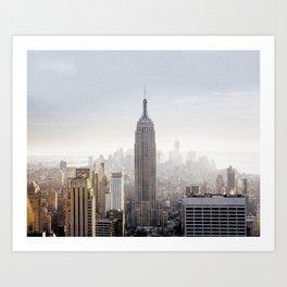 New York City Art Print, Empire State Building Photo, New York City Home Decor, New York City Skyline, New York City Photography, NYC Print Art Print