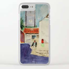 South of France Clear iPhone Case