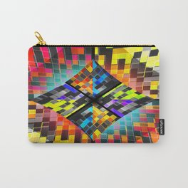 qr code matrix Carry-All Pouch