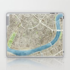New Orleans City Map Laptop & iPad Skin