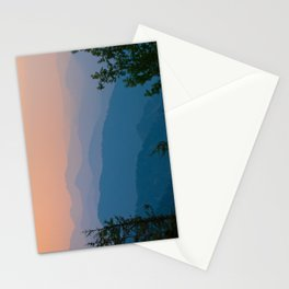 Complementary Mountains Stationery Cards