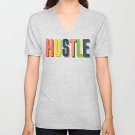 Hustle Unisex V-Neck