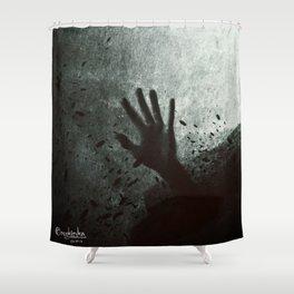 W otchlani Shower Curtain