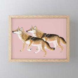 Totem Honshu Wolf Framed Mini Art Print