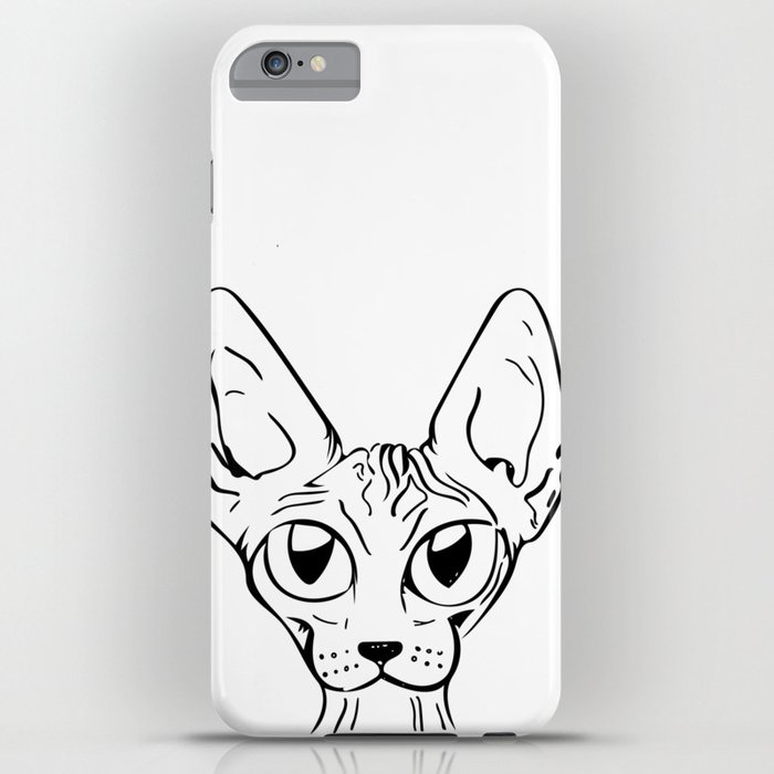 Sphynx Cat Cartoon
