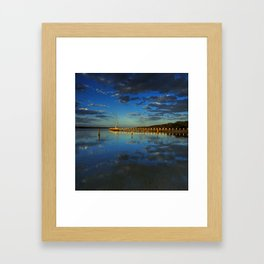 Evening Reflections Framed Art Print