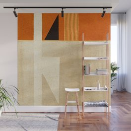 Solitaire du Figaro (ocre) Wall Mural