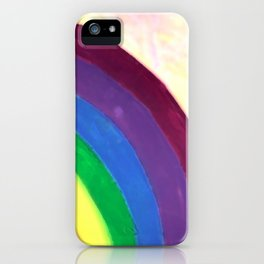 rainbow love (z) iPhone Case
