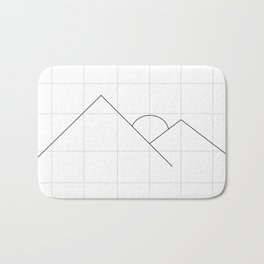 Apex on Grid V2 Bath Mat