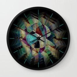 Flower Warrior Wall Clock