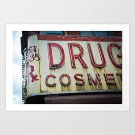 Drugs Art Print