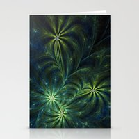 weed Stationery Cards featuring Weed by Eli Vokounova