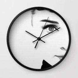 Audrey Hepburn Half Series Wall Clock