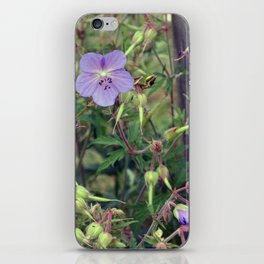 symphony in blue iPhone Skin