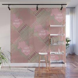 GOT MILK ? pink pattern Wall Mural