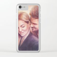 Something Smells Delicious Clear iPhone Case