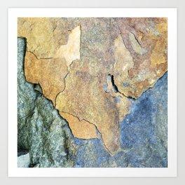 Abstract Stone Art Print