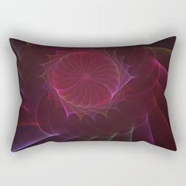 Plastic Orgami Rectangular Pillow